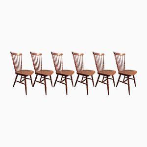 Menuet Bistro Chairs from Baumann, 1960s, Set of 6