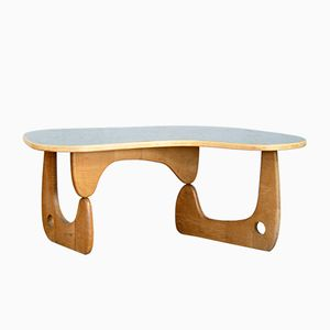Vintage Bean-Shaped Coffee Table