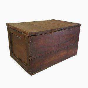 Vintage Holz Briefkasten von Chicorée Leroux