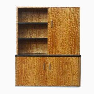Vintage Art Deco Wall Cabinet by Bas van Pelt