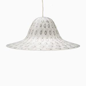 Lampe à Suspension Vintage en Verre par Aloys Ferdinand Gangkofner pour Peill & Putzler