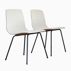 Vintage Papyrus Chairs by Pierre Guariche for Steiner, Set of 2
