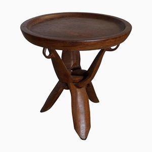 Vintage African Side Table