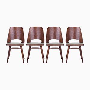 Vintage Stühle von Frantisek Jirak, 4er Set