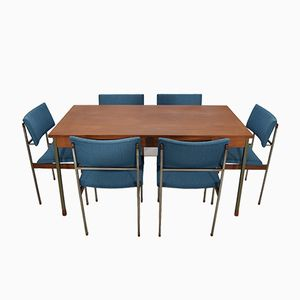 Mid-Century Dutch Modernist Dining Set