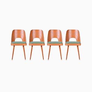 Vintage Esszimmerstühle von Oswald Haerdtl, 4er Set