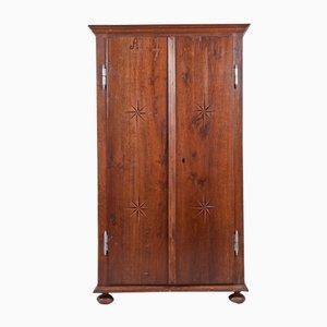 Klassizistischer Kleiderschrank mit Zwei Türen, 1761