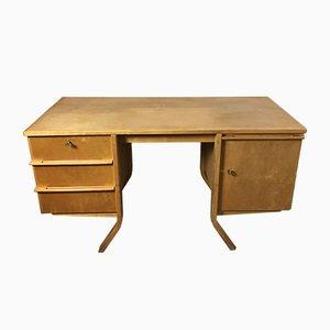 EB04 Birke Serie Schreibtisch von Cees Braakman für Pastoe, 1950er