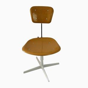 Chaise en Acier et Plastique, 1970s