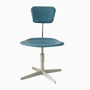 Industrieller Stuhl aus Stahl & Plastik, 1970er