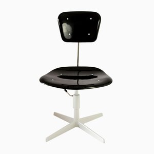 Industrieller Stuhl aus Plastik & Stahl, 1970er