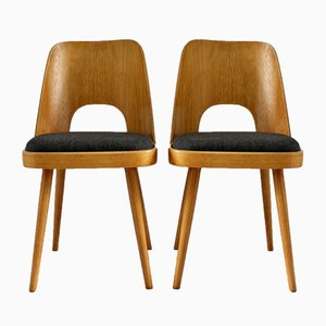Czech Plywood Chairs by Oswald Haerdtl for TON, 1950s, Set of 2