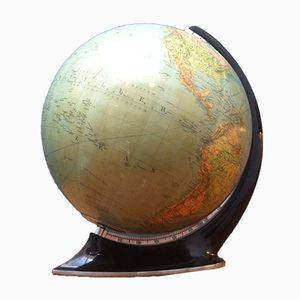 Art Deco Illuminating Globe