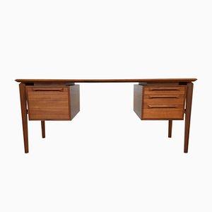 Mid-Century Danish Teak Desk by IB Kofod Larsen for Seffle Mobelfabrik