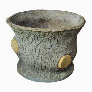 Grand Cache-Pot en Ciment, 1930s