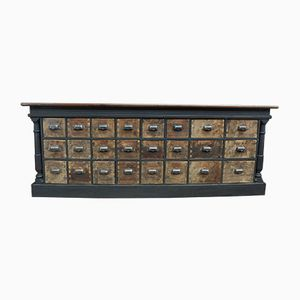 Vintage Haberdashery Counter
