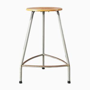 Vintage Industrial Stool from Ahrend de Cirkel