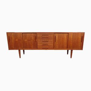 Vintage Large Sideboard in Teak by Nils Jonsson for Troeds