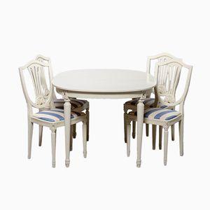 Gustavian Dining Set