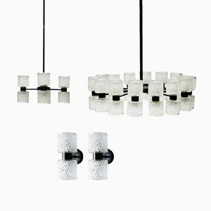 Model Zonnewende Lighting Fixtures by J.W. Bosman for Raak, Set of 24