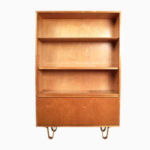 Vintage Birch Series Book Cabinet by Cees Braakman for Pastoe