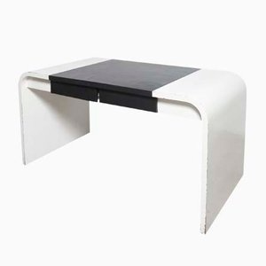 Black and White Desk from De Coene, 1960s