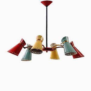 Lampe à Suspension Diabolo Vintage par Pierre Guariche pour Stilnovo, France
