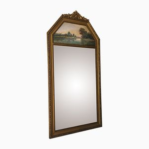 Vintage Trumeau Spiegel