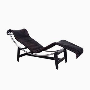 LC4 Chaise Longue by Le Corbusier, Pierre Jeanneret, & Charlotte Perriand for Wohnbedarf, 1950s