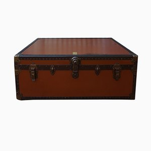 Vintage British Steamer Trunk from Victor Luggage