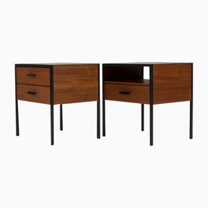 Mid-Century Modern Nightstands by Cees Braakman for Pastoe, 1960s, Set of 2