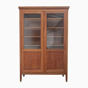 Vintage Belgian Oak Cabinet, 1930s