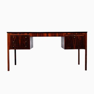 Danish Rosewood Desk by Erik Wørts for Henrik Wørts, 1960s