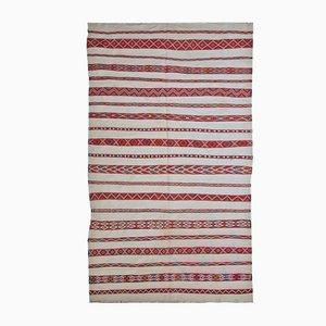 Handgemachter Marokkanischer Vintage Kilim Teppich, 1950er