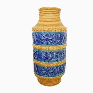 Vaso da terra in ceramica di Bay Keramik, anni '60