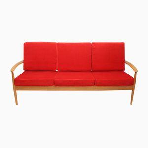 Model 118 Teak Sofa by Grete Jalk for France & Søn, 1960s