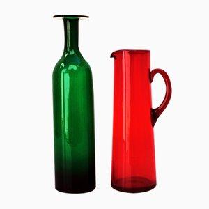 Vases Mid-Century Scandinaves, Set de 2