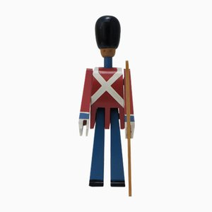 Mid-Century Royal Guardsman with Rifle by Kay Bojesen