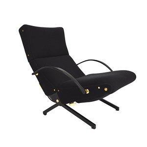 Adjustable P40 Lounge Chair by Osvaldo Borsani for Tecno