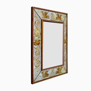 Venezianischer Spiegel mit Goldenen Verzierungen, 1940er