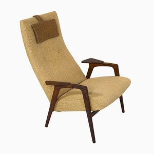 Mid-Century Ruster Lounge Chair by Yngve Ekström for Pastoe