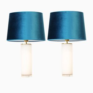 Petroleum Table Lamps from Falkenbergs Belysning, Set of 2