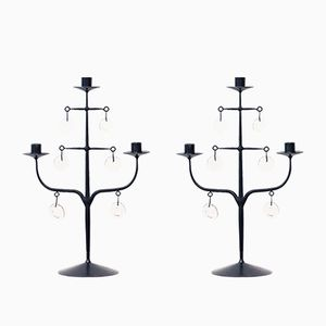 Candelabras by Erik Höglund for Boda, Set of 2