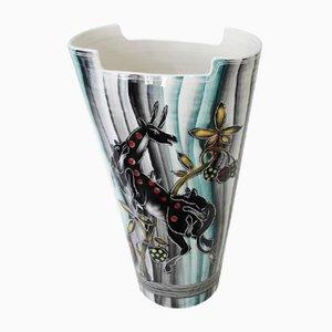Italienische Große Vase, 1950er