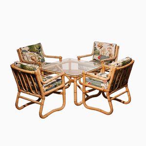 Bamboo Garden Set, 1960s