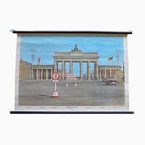 Stampa scolastica raffigurante la Porta di Brandeburgo di Heder Druck, 1958
