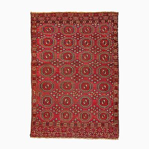 Antique Handmade Turkoman Saryk Rug, 1850s