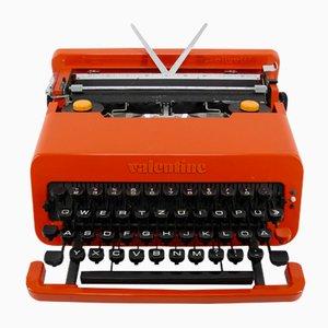 Machine à Écrire de Voyage Valentine par Ettore Sottsass & Perry A. King pour Olivetti Synthesis, 1969