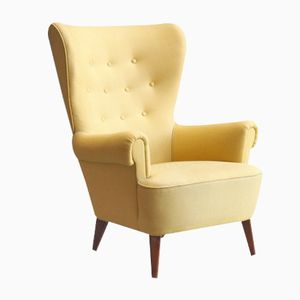 Vintage Wingback Chair by Theo Ruth for Artifort