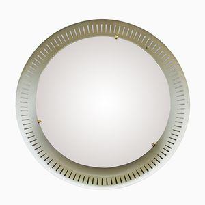 Italienischer Beleuchteter Mid-Centutry Spiegel